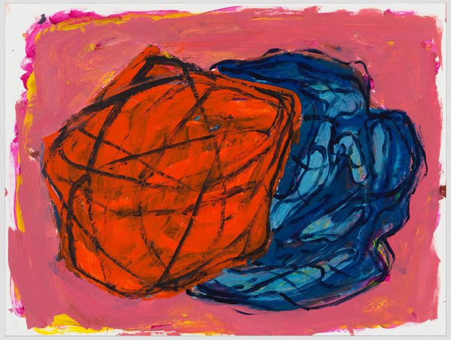 untitled: shadowobject; 2020 by Phyllida Barlow contemporary artwork