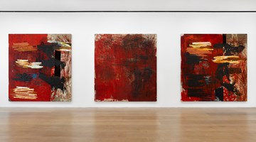 Contemporary art exhibition, Oscar Murillo, Manifestation at David Zwirner, London, United Kingdom