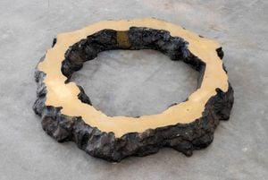 Phase of NothingnessóEarth Circle by Sekine Nobuo contemporary artwork