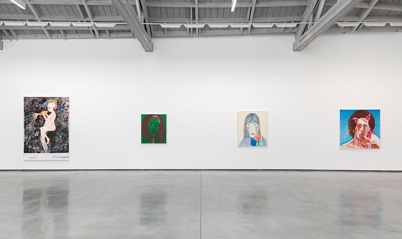 Exhibition view: Jason Fox, David Kordansky Gallery, Los Angeles (26 May–11 July 2020). Courtesy David Kordansky Gallery. Photo: Jeff McLane.