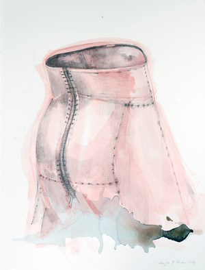 Study of Armour Skirt IV by Naiza H. Khan contemporary artwork