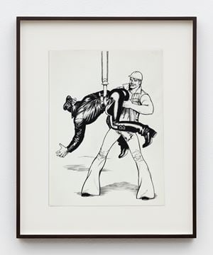 """Untitled (from Kake Vol. 17 - """"Loading Zone"""") by Tom of Finland contemporary artwork"""