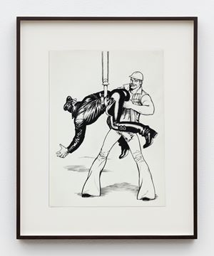 "Untitled (from Kake Vol. 17 - ""Loading Zone"") by Tom of Finland contemporary artwork"
