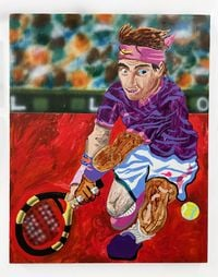 Nadal 3 by Royal Jarmon contemporary artwork painting
