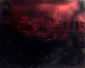 Der Damaskus Platz from the series 'What If' by Manaf Halbouni contemporary artwork