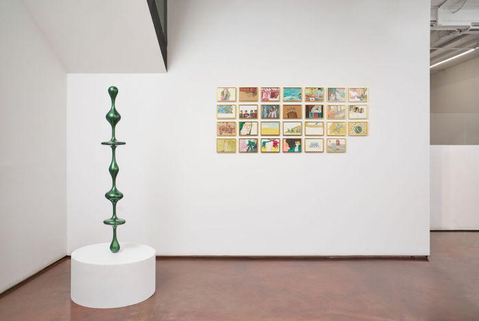 Exhibition view: Group Exhibition,Forêt, Arario Gallery Cheonan (25 May–17 July 2021). Courtesy Arario Gallery.