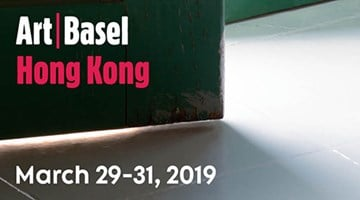 Contemporary art exhibition, Art Basel in Hong Kong at Zeno X Gallery, Antwerp
