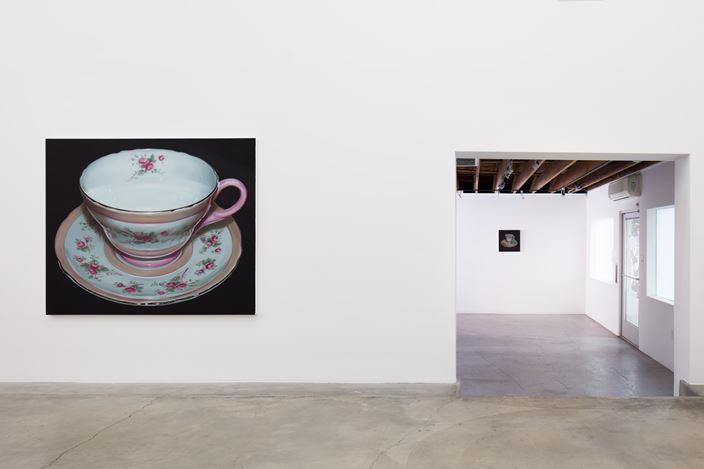 Exhibition view: Robert Russell, Teacups, Anat Ebgi, Culver City, 2660 S La Cienega Blvd (23 January–6 March 2021).Courtesy Anat Ebgi, Los Angeles.