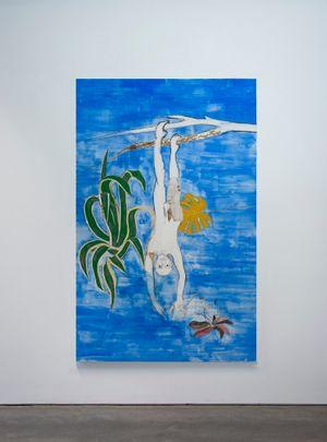 Plants like him - Cerulean Blue by Gaia FUGAZZA contemporary artwork