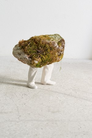 Stone by Erwin Wurm contemporary artwork