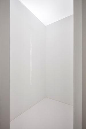 Ambiente spaziale [Spatial Environment] by Lucio Fontana contemporary artwork sculpture, installation