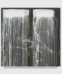 Untitled XXIX by Pat Steir contemporary artwork painting