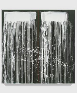Untitled XXIX by Pat Steir contemporary artwork