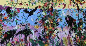 Serendib 01 by Priyantha Udagedara contemporary artwork