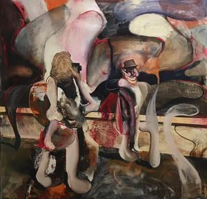 The Uncle 4 by Adrian Ghenie contemporary artwork