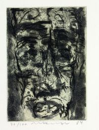 Kopf: Figur by Marwan contemporary artwork print