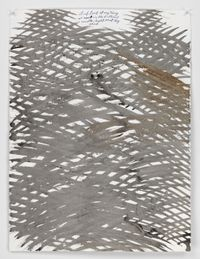 No Title (And look at...) by Raymond Pettibon contemporary artwork painting, works on paper, drawing