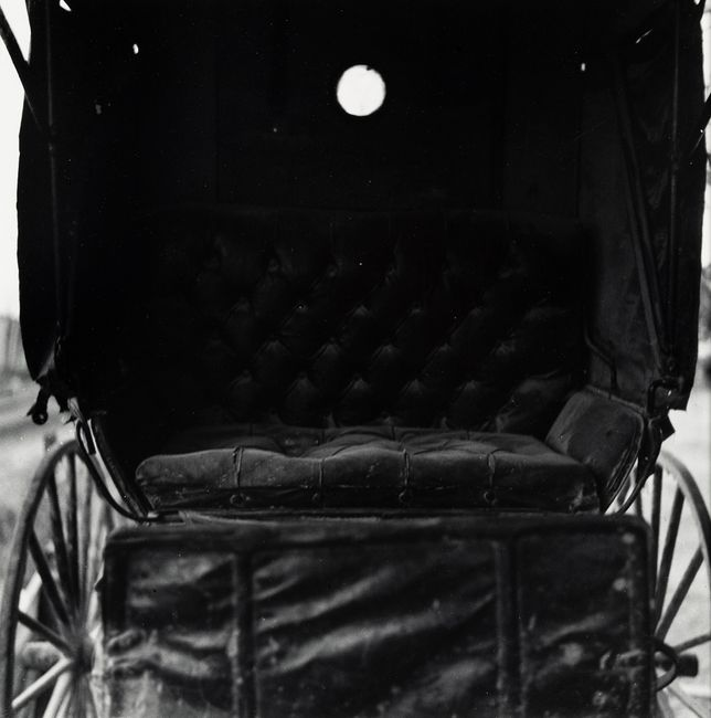 Untitled (Inside of an Old Carriage) by Robert Rauschenberg contemporary artwork