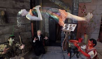 Tony Oursler Retrospective to Open at Last in Kaohsiung
