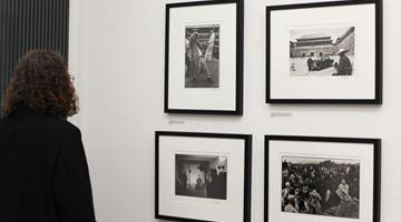 Contemporary art exhibition, Marc Riboud, A Wanderer's Choice at Galerija Fotografija, Ljubljana