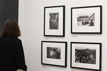 Exhibition view:Marc Riboud, A Wanderer's Choice,Galerija Fotografija, Ljubjana (29 May–15 September 2018). CourtesyGalerija Fotografija.