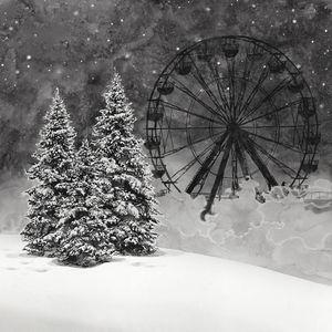 The Ferris Wheel by Hans Op de Beeck contemporary artwork