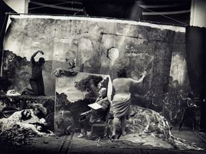 Studio of the Painter by Joel-Peter Witkin contemporary artwork