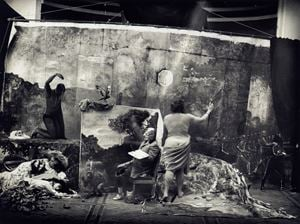 Studio of the Painter by Joel-Peter Witkin contemporary artwork photography