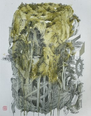 The Castle 1 《堡壘城 1》 by Wong Chung-Yu contemporary artwork