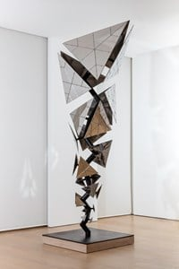Study for Exploded Paradigm (Philadelphia) by Conrad Shawcross contemporary artwork sculpture