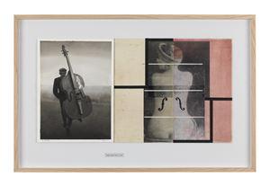 Dates No 57 (Tomislav Peternek, Man Ray) by Radenko Milak & Roman Uranjek contemporary artwork
