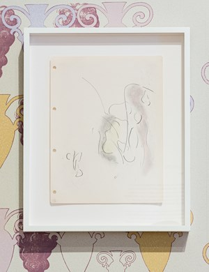 Series One, Drawing No. 5, (London, August 7th) by Marc Camille Chaimowicz contemporary artwork