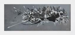 Matta Salums by Georges Mathieu contemporary artwork 1