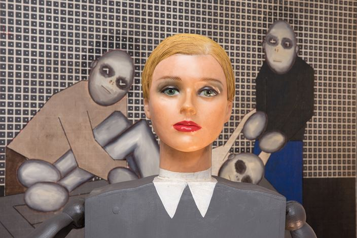 Exhibition view: Thomas Zipp,world health. Mental health 2020,Galerie Krinzinger, Vienna (21 February–27 March 2020). Courtesy Galerie Krinzinger.