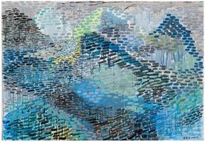 蓝山 Blue Mountain by Yu Youhan contemporary artwork