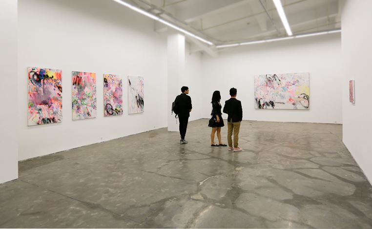 Exhibition view: Yang Shu, W.T.Y., A Thousand Plateaus Art Space, Chengdu (25 April–22 July 2018). Courtesy A Thousand Plateaus Art Space.