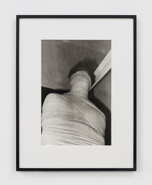 Untitled (Performance with surgical bandage) #62 by Ivens Machado contemporary artwork