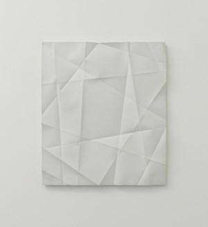 Faltenguss No. 4/18 by Beat Zoderer contemporary artwork