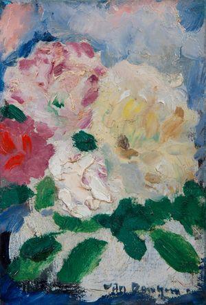 Bouquet de fleurs by Kees Van Dongen contemporary artwork