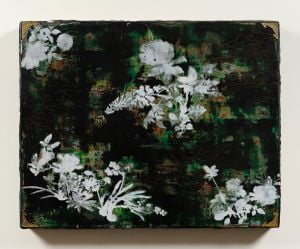 Imitating Mother-of-Pearl Inlay Exercise (Green) by Su Meng-Hung contemporary artwork painting