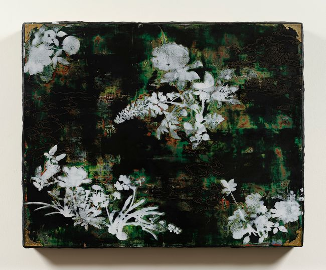 Imitating Mother-of-Pearl Inlay Exercise (Green) by Su Meng-Hung contemporary artwork