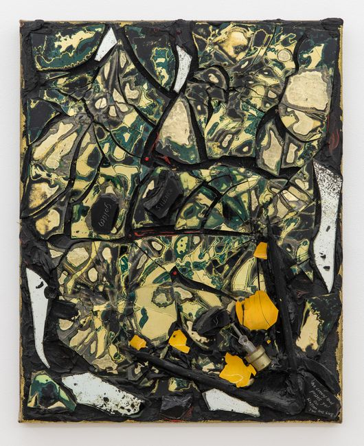 Silence by Derek Jarman contemporary artwork