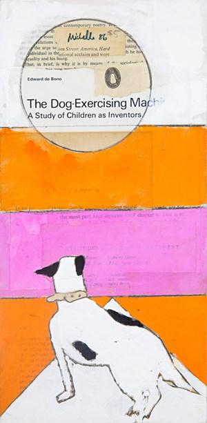 Dog Exercising Machine by Katherine Hattam contemporary artwork