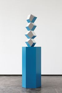 Totem Pillar: Treasury by Angela Bulloch contemporary artwork works on paper, sculpture