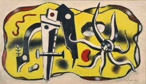 Composition au compas by Fernand Léger contemporary artwork