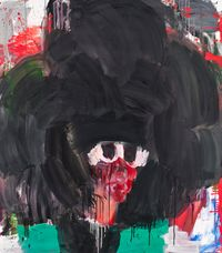 Black Soul by Misheck Masamvu contemporary artwork painting