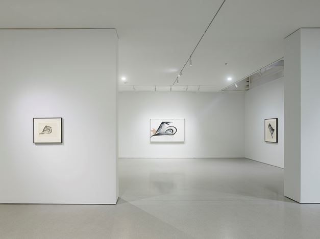 Exhibition view: Jay Defeo, Transcending Definition Jay DeFeo in the 1970s, Gagosian, San Francisco (10 September–11 December 2020). © 2020 The Jay DeFeo Foundation / Artists Rights Society (ARS), New York. Courtesy Gagosian. Photo: Robert Divers Herrick.