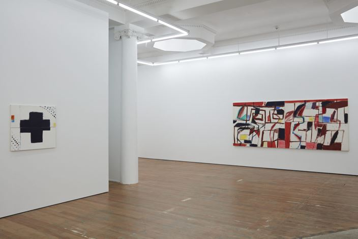Exhibition view: Julian Dashper, 1984–1987, Michael Lett, Auckland (16 July–15 August 2020). Courtesy Michael Lett.