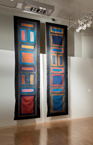 Panel A and Panel B by Chant Avedissian contemporary artwork