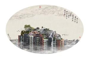Heaven on Earth No. 1 天上人间之一 by Yao Lu 姚璐 contemporary artwork